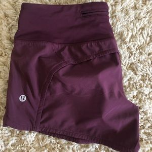 Lululemon Speed Up Short 4""